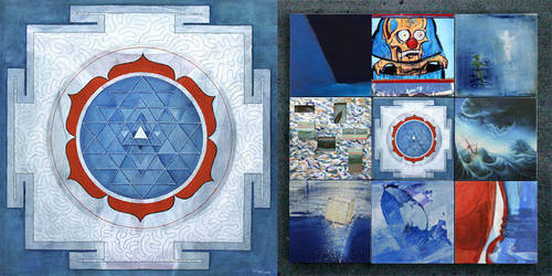 Blue Vessel by Pachita