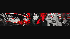 Persona 5 (Youtube Banner) by iEmelien