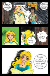 Page 1 of A Real Haunt (more on the website) by Shrone