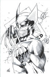 Wolverine - Wanted - Ink by TheEndofOurLives
