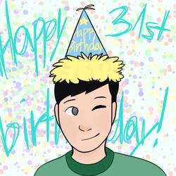Happy birthday Phil! by pupsoda
