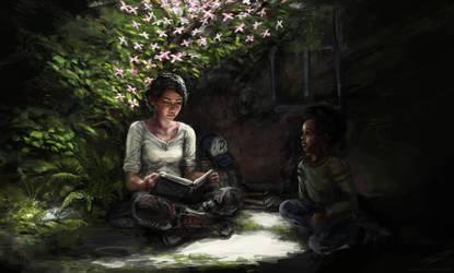 Flower in the dark by Ordoveci