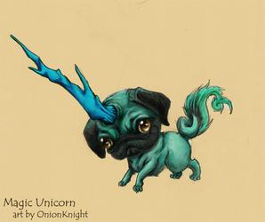 Magical Unicorn by OnionKnight