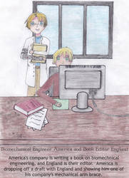 Biomechanical Engineer America and Editor England by outlire