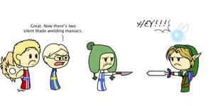 Link vs. Finland by loves2die4