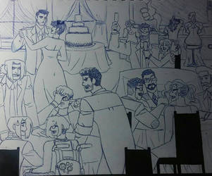 Request: Bat Family Reception by wallaswells1