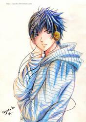 TA: blue by sayuko