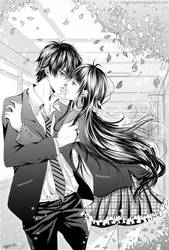 com: Kraven and Lady death wish by sayuko