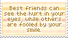 Best Friends Can See It by mylastel