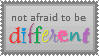 dIfFeRenT by mylastel