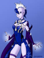 Killer Frost (Regime) Commission by DarthGuyford