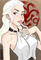 Daenerys Targaryen by DarthGuyford