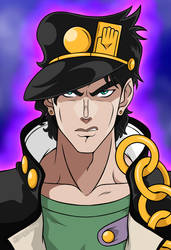 Jotaro Kujo by DarthGuyford