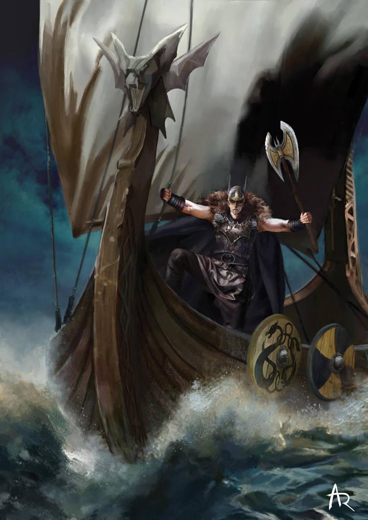 Viking Batman by AnnaSinthetic