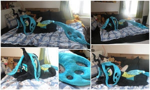 LIFE SIZE Chrysalis Plush for Charity by AlexCreations