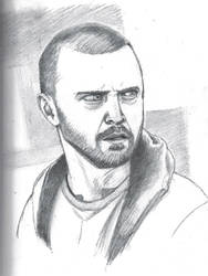 Jesse Pinkman Aaron Paul Breaking Bad pencils by DoctorFantastic