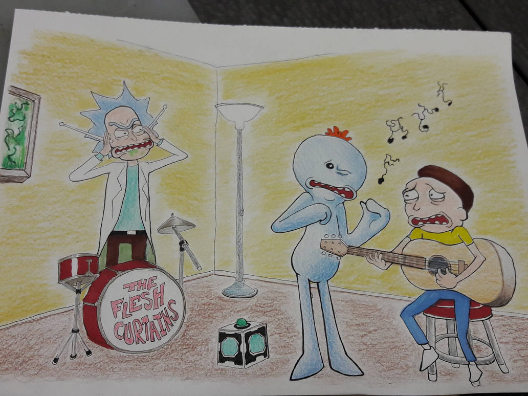 Rick and Morty Mr. Meeseeks Guitar Lesson by DoctorFantastic