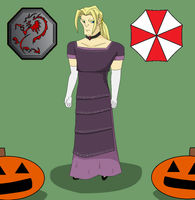 Dark Hand Halloween- Valmont as Alexia Ashford by Scoochshot