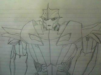 Knockout - Transformers Prime by Scoochshot