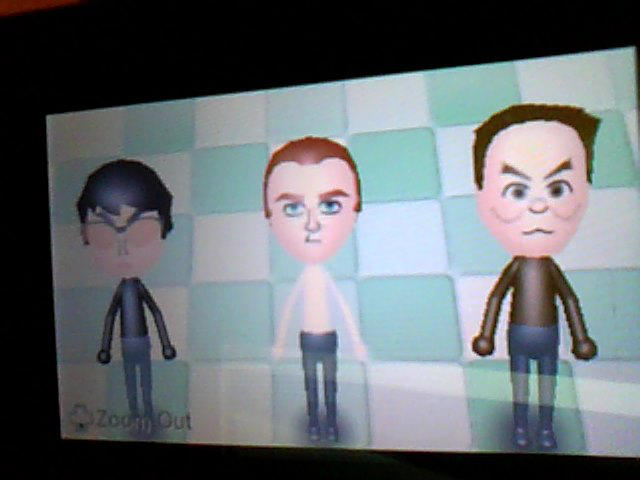 Dark Hand Miis by Scoochshot