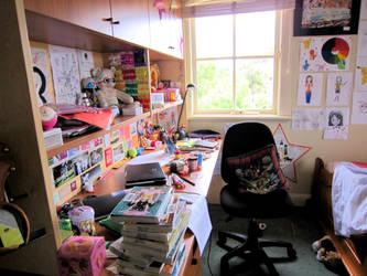 My Desk by katpann