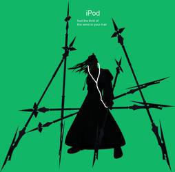 Xaldin's iPod by RedHood3