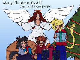 Merry Christmas 2015- Panel 1 by Catboy-Trades
