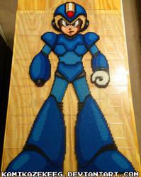 Mega Man X Normal Peler Beads WIP 2 by kamikazekeeg