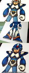 Mega Man X Detachable Armor Extra by kamikazekeeg