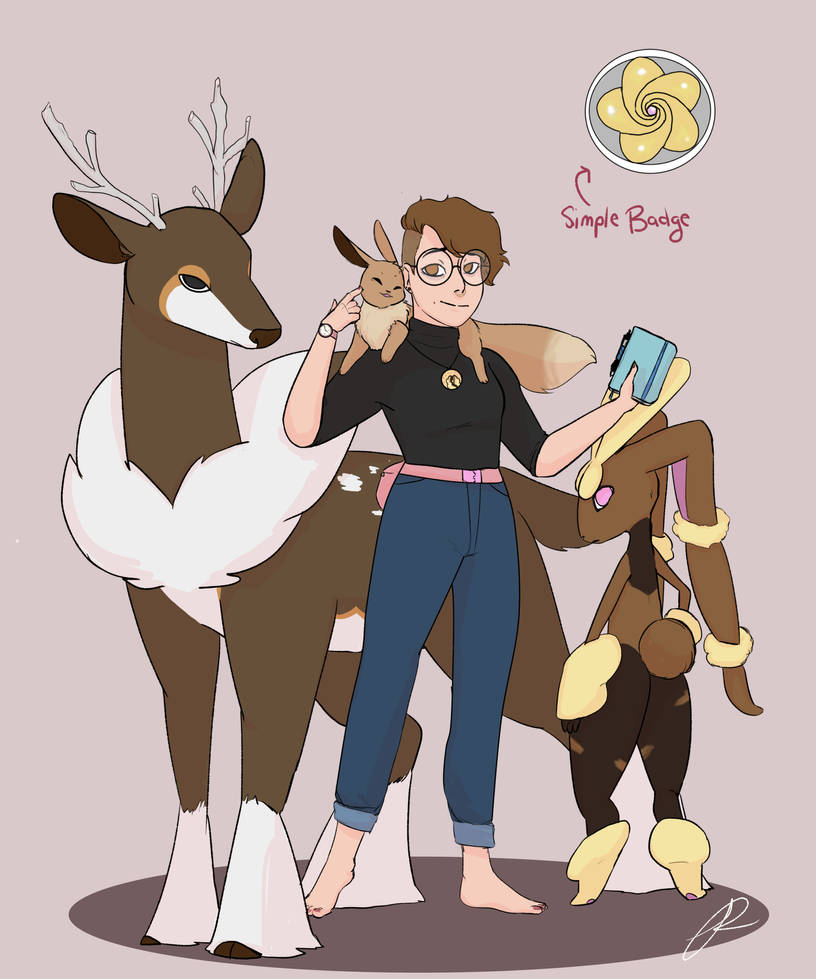 Leader Lennie! (Gymleadersona) by lovalle