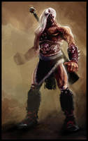 warrior by Krivio