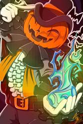 Jackk the Pumpkin by Fillilala