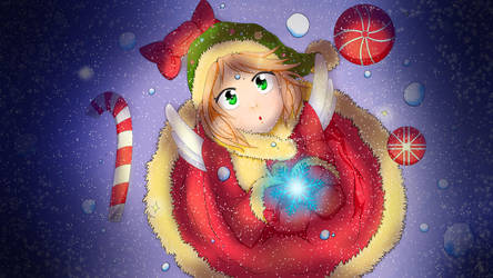 merry christmas / 1st. Snow by Fillilala