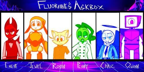 Askbox!! Big Ol Update by fluoriiine