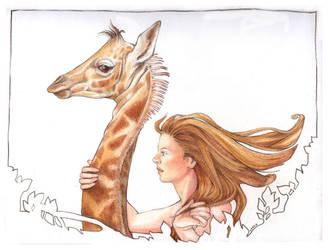 Giraffe Ride by gredandfeorge