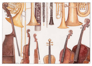 Orchestra by gredandfeorge
