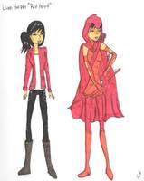 Lian Harper Red Hood by Nightstar1231