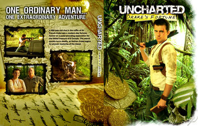 Uncharted Drake's Fortune DVD Cover by RatGnaw