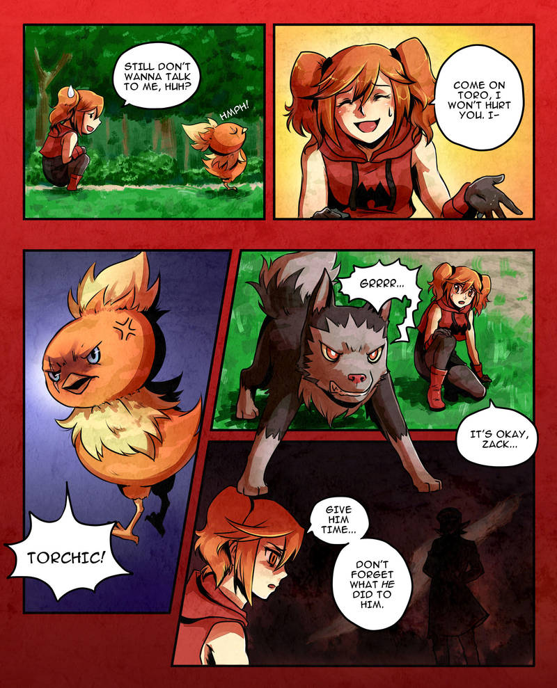 pokemon ruby comic putting out the fire page 25 by cocosnowlo on
