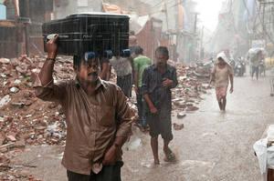 Monsoon, New Delhi by elementality