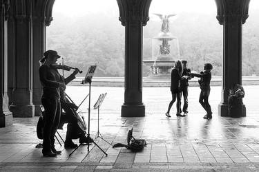Bethesda Fountain by elementality