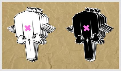 ::sticker pack 01:: by rudeoz