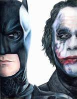 The Dark Knight by cupcakeninja11