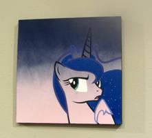 Pondering Luna Line Art by pyrobob