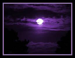 Purple Moon by Justaminute