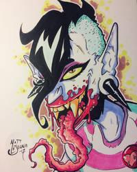 Blood sucker  by Matt-Lejeune-Art