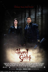 Hansel and Gretel: Witch Hunters Poster v2 by Emmy-has-a-Gun