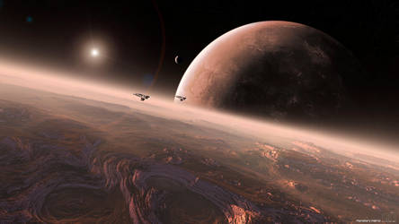 Planetary Patrol by AlexNIKO