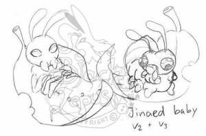 Jinaed baby skeches by Black-Lepus