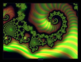 Green dragon by mehrdadart
